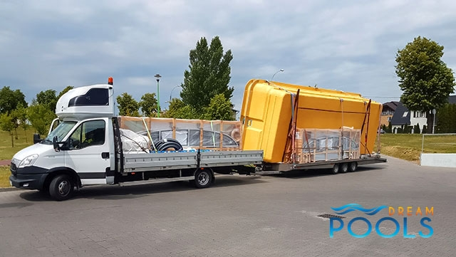 polyester zwembad levering 104