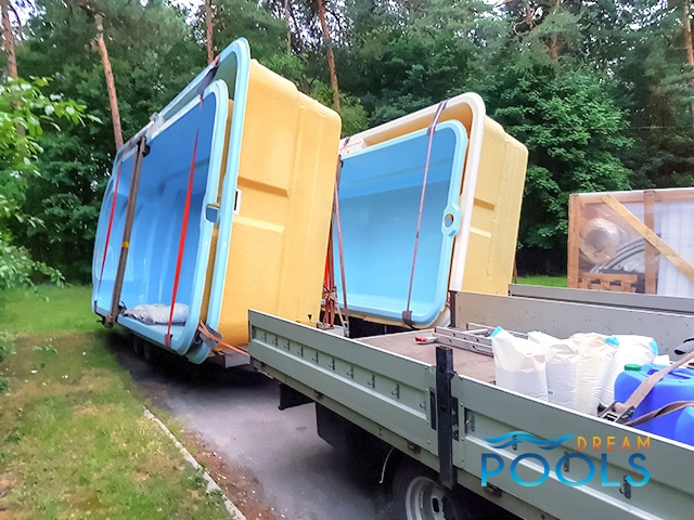 polyester zwembad levering 108