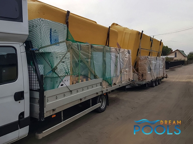 polyester zwembad levering 118