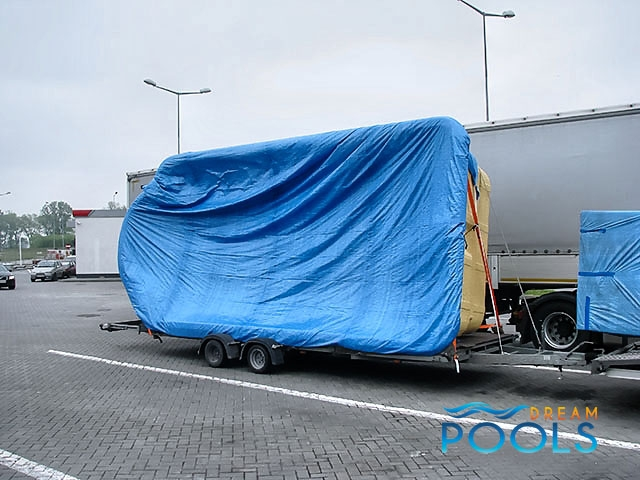 polyester zwembad levering 53
