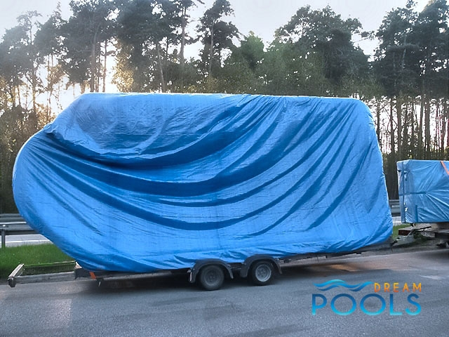 polyester zwembad levering 57