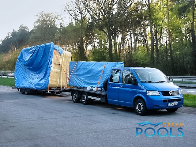 polyester zwembad levering 58