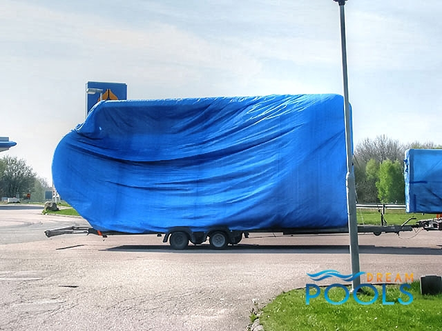 polyester zwembad levering 59