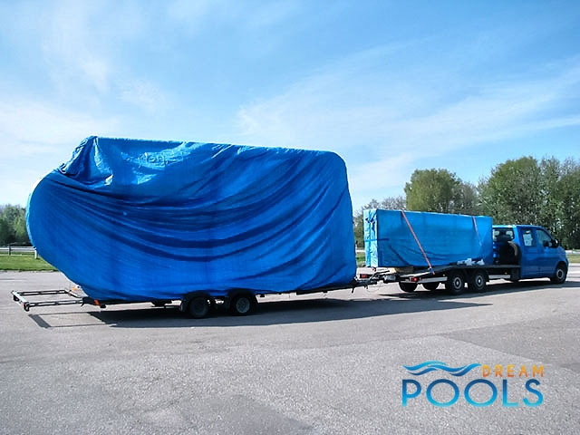 polyester zwembad levering 60