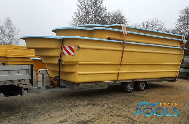 polyester zwembad levering 95