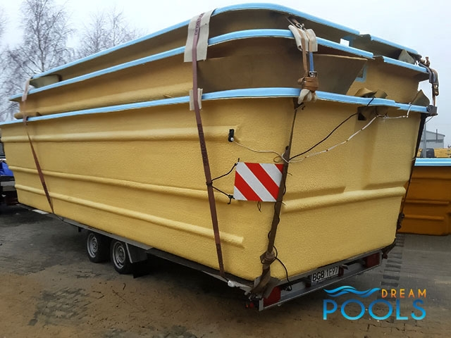 polyester zwembad levering 96