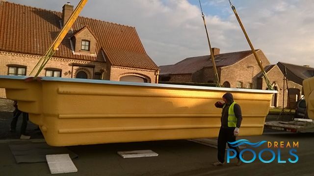 polyester zwembaden levering 121