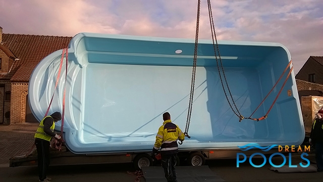 polyester zwembaden levering 130