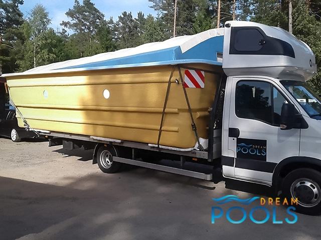 polyester zwembaden levering 143