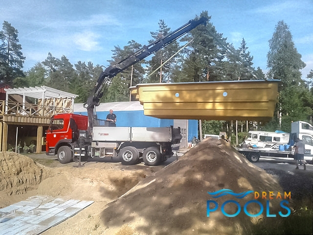 polyester zwembaden levering 144